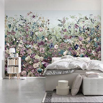 Brewster Home Fashions Komar Botanica Wall Mural Home Decor Wall Murals Mural Wallpaper