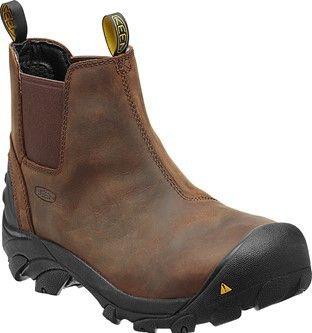Detroit Slip-On Steel Toe Work Shoes