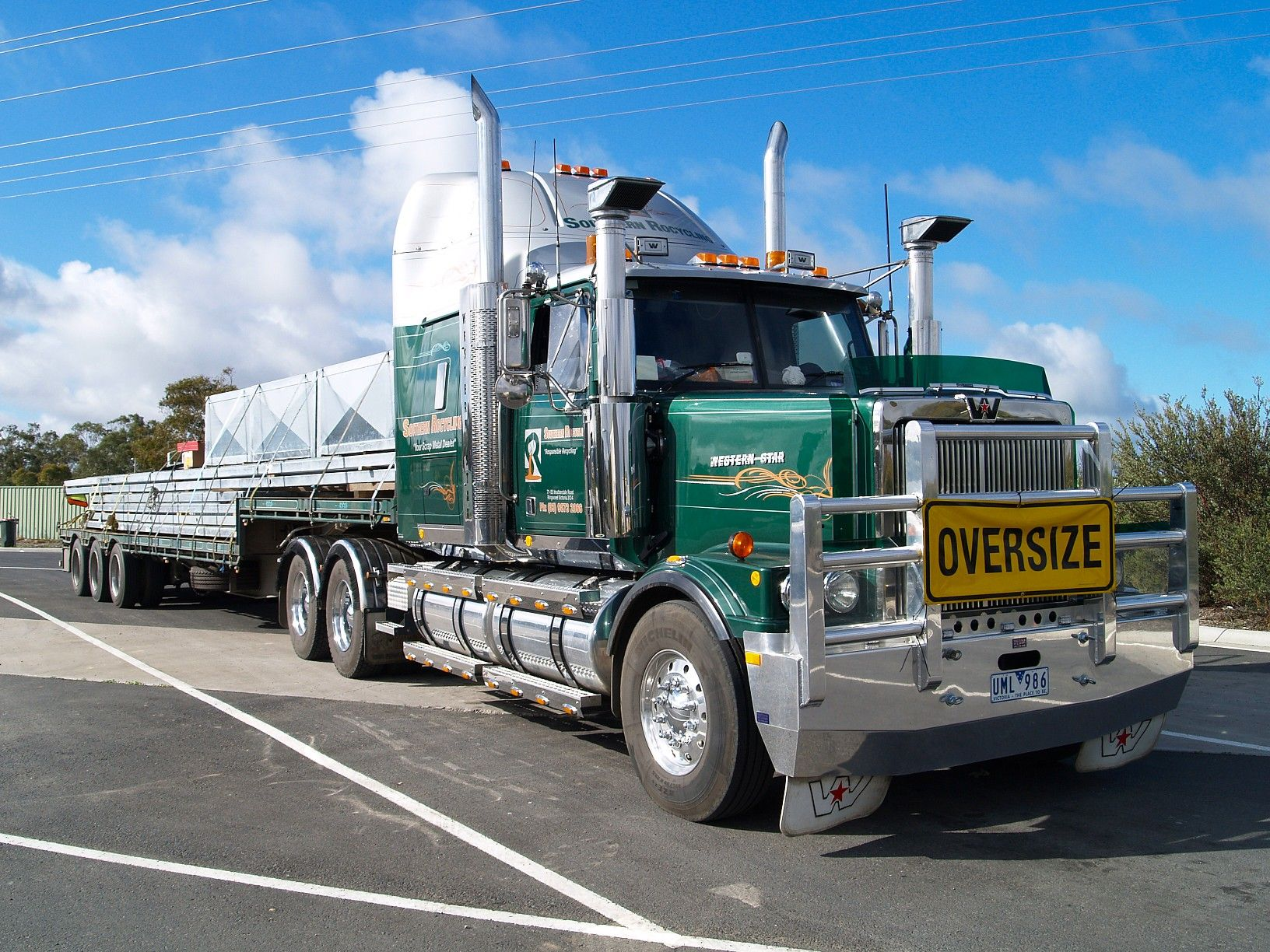 Pictures of western star trucks camions and lorries