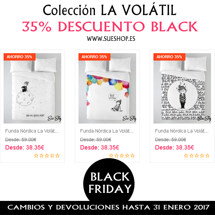 fundas nordicas black friday