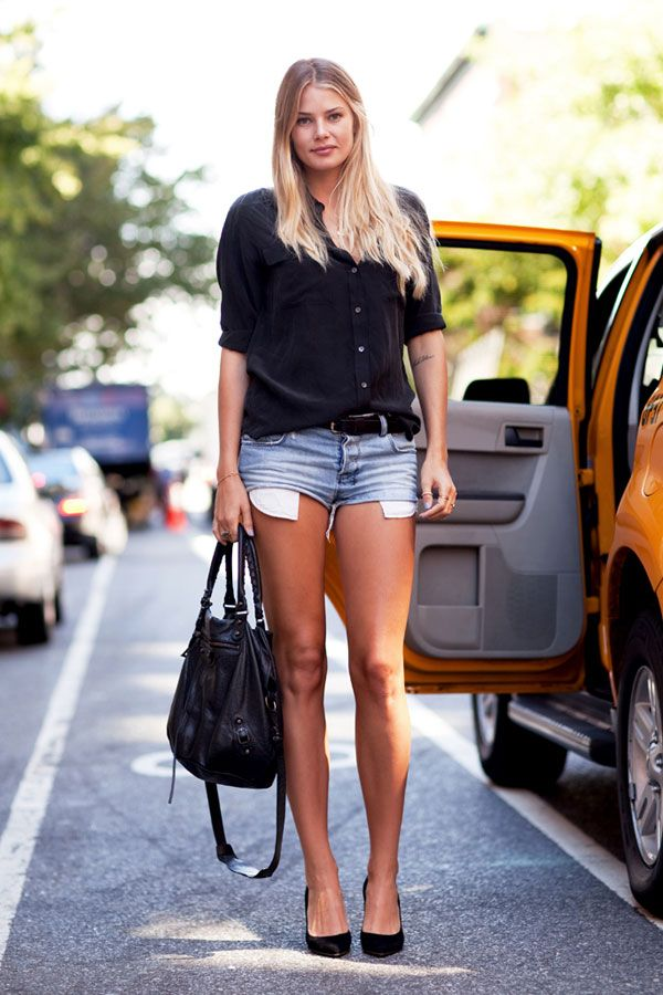 Take some hints from NYC spring street style. Click for more! 5e35e1e808