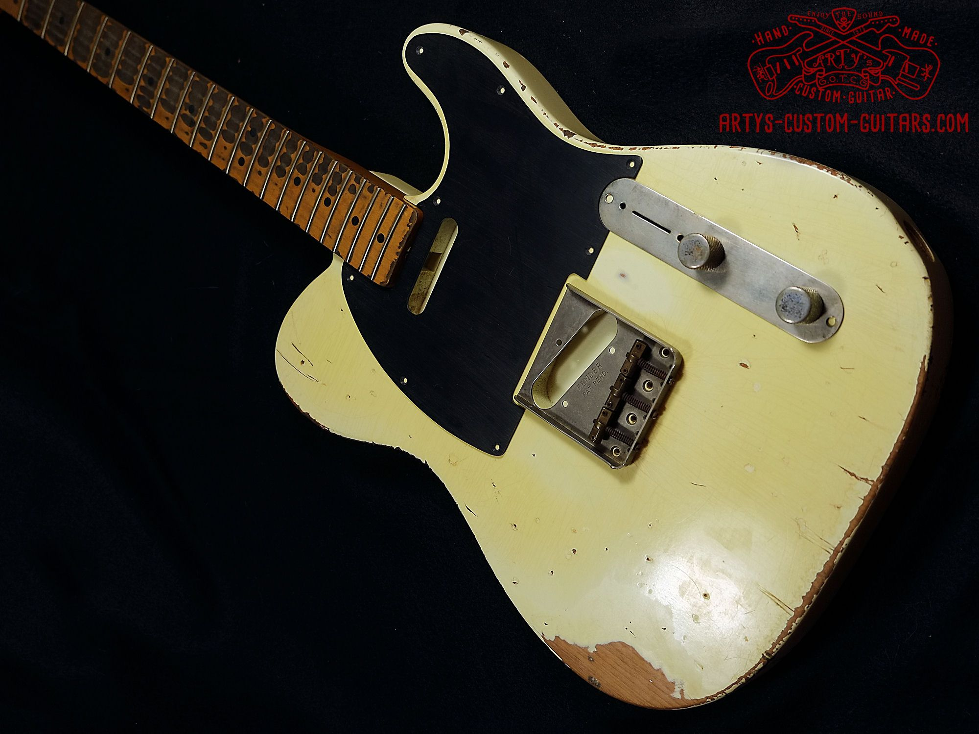 arty s relic aged custom shop guitars gallery prewired kit harness assembly wiring diagram telecaster stratocaster p bass j bass les paul jr  [ 2000 x 1500 Pixel ]