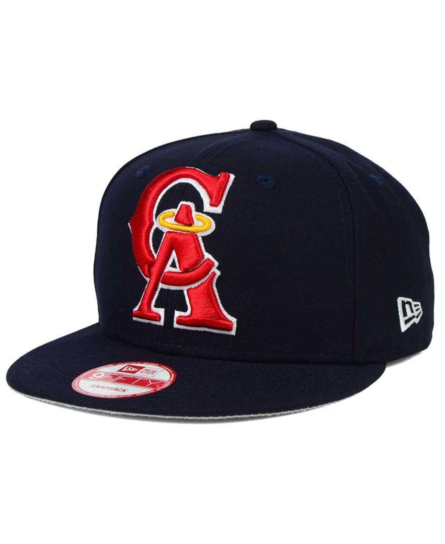 New Era Los Angeles Angels of Anaheim Biggie 9FIFTY Snapback Cap ... 0607061e8f4