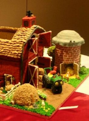 Gingerbread Barn Awesome Things That