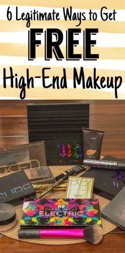 6 Legitimate Ways to Get Free High-End Makeup