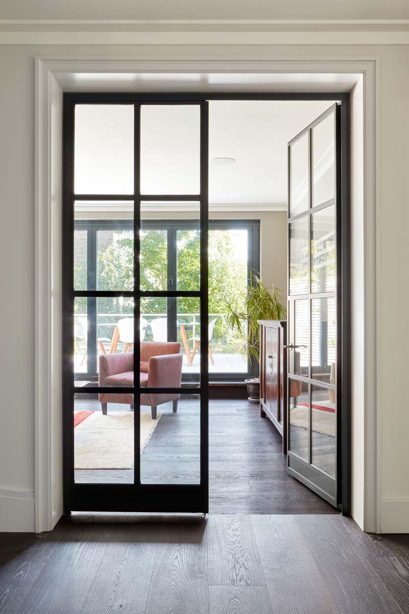 Crittall W20 Internal Double Doors Sliding Doors Exterior Glass Doors Interior Double Doors Interior