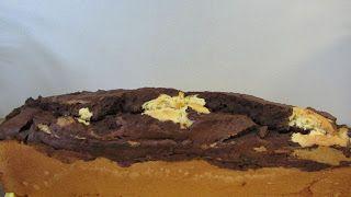 Weihnachten ist ja ein Synonym für Süßkram und so sah es wohl auch Jutta und machte einen Marmorkuchen