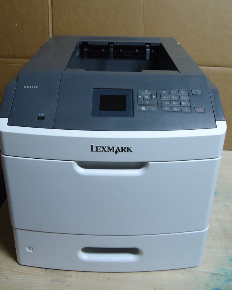 Download Driver: Lexmark MS810n Printer
