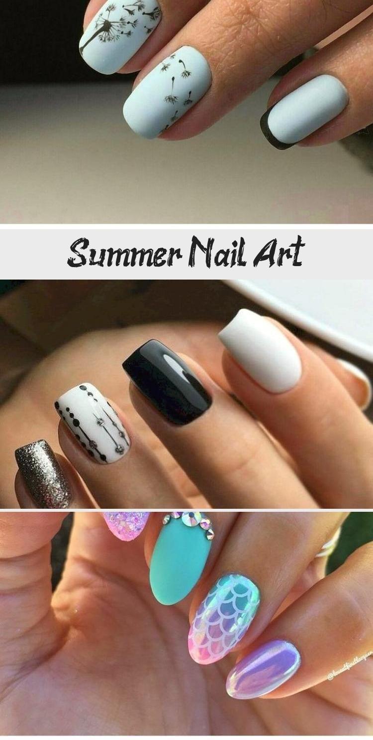 Summer Nail Art Nail Art Design In 2020 Nail Art Summer Summer Nails Nail Art Designs