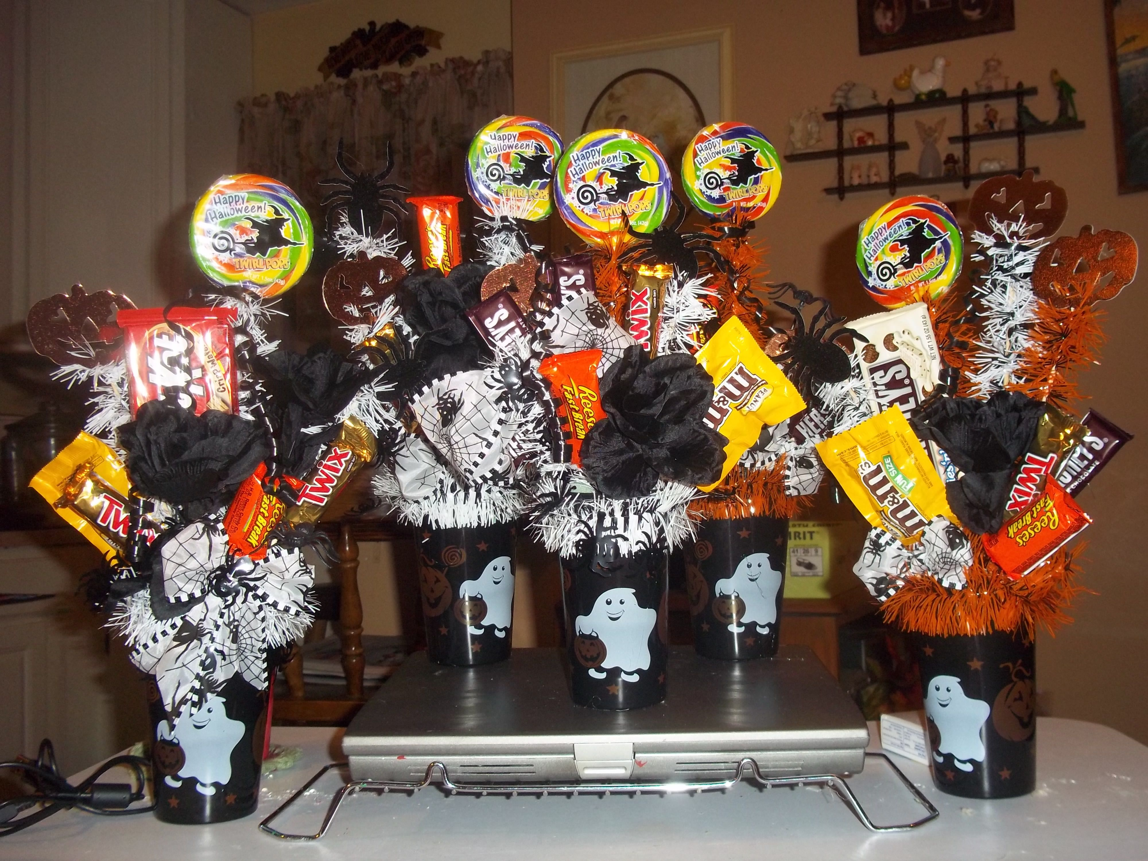 Halloween Candy Craft Ideas Made for coworkers