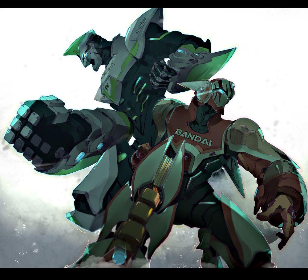 かっこいいTIGER&BUNNYのロボット