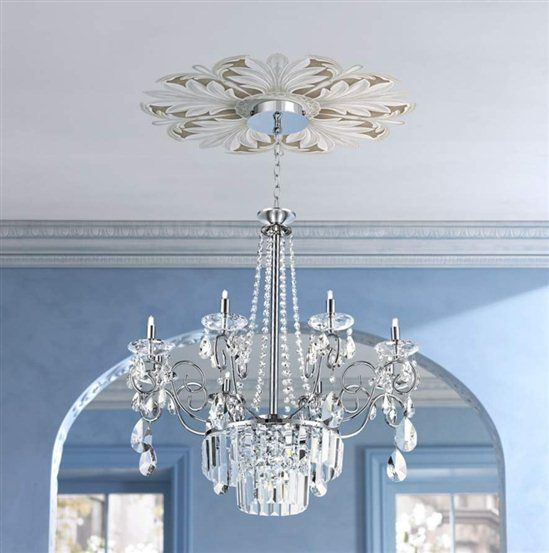 Lights Plus Decor: Repositionable Ceiling Medallions For The Home