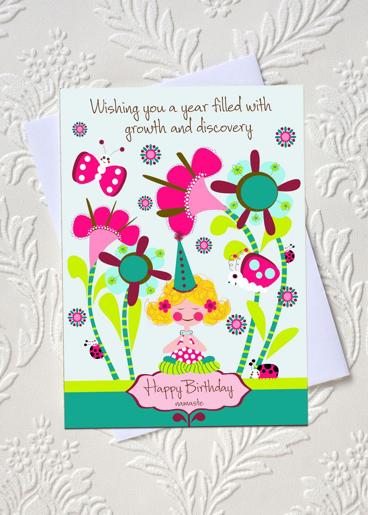 Yoga Birthday Greeting Card Idocaredesigns Quote By Elana