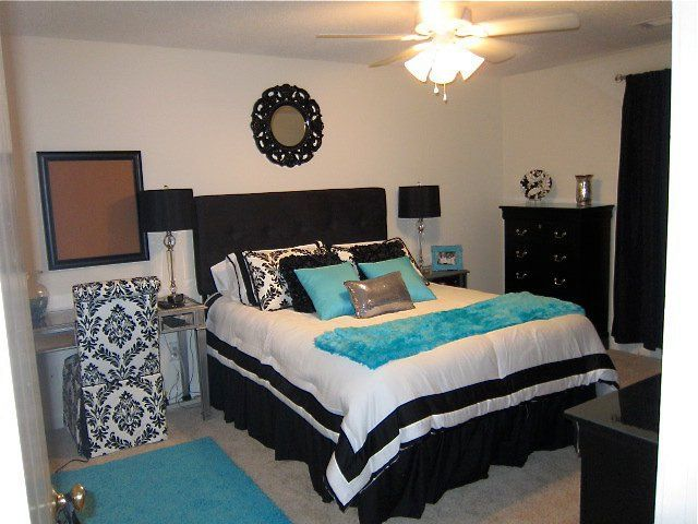 Classic Black And White Easily Change Out Accent Colors Silver