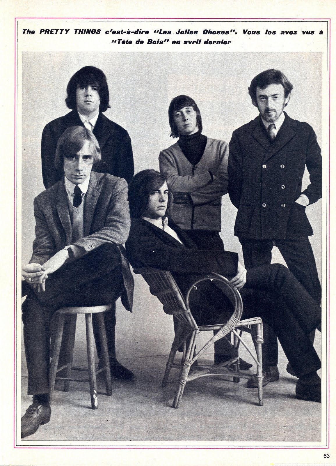 The Pretty Things My Dad John Stax Back Left Music