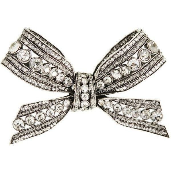 Lanvin Brooch (11.940 ARS) ❤ liked on Polyvore featuring jewelry, brooches,  crystal