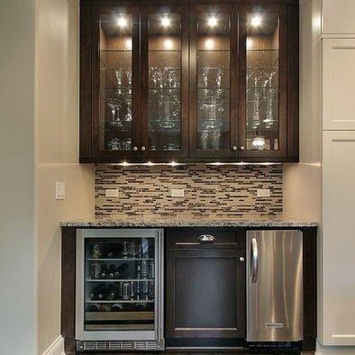 Bar Cabinet With Wine Fridge For 2020 Ideas On Foter Dry Bar Furniture Fridge Design Basement Bar Designs