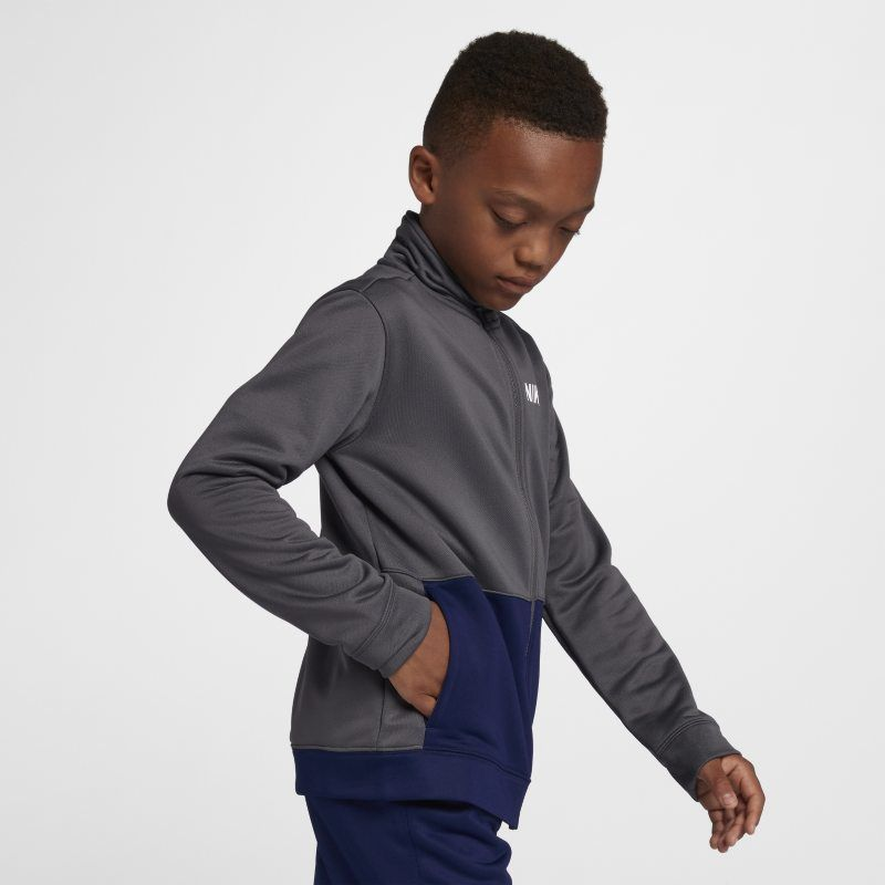 7c7a93254964 Nike Sportswear Older Kids (Boys ) Tracksuit - Grey