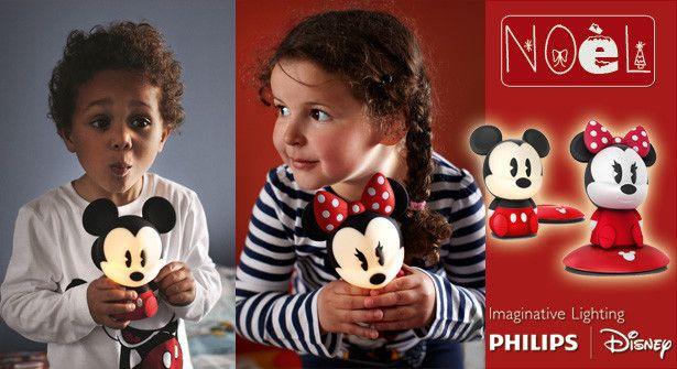 Philips Disney : 20 veilleuses Minnie ou Mickey à gagner