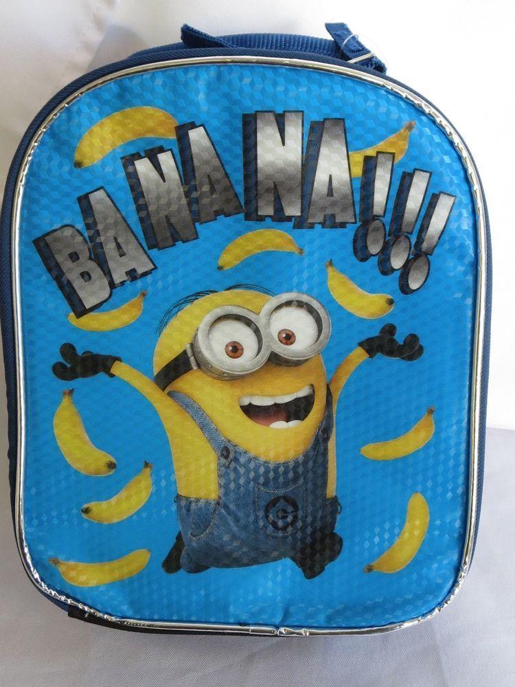 Despicable Me Minion Banana Insulated Lunch Box Minions+