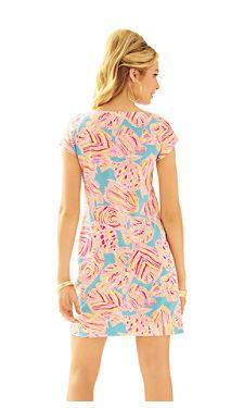 dbbd1bfaffdb99 Boat Neck Dress, Daytime Dresses, Dress Lilly, Printed Shorts, Lilly  Pulitzer,