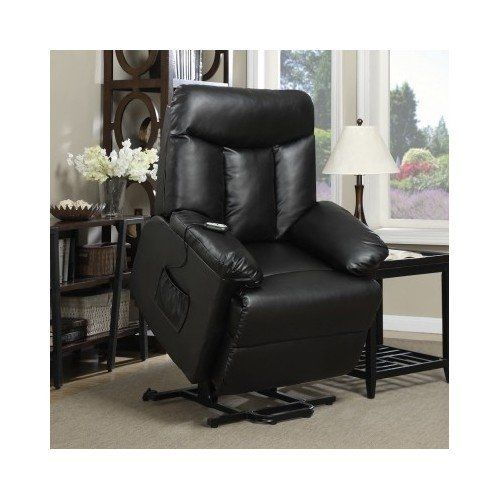 Recliner  sc 1 st  Pinterest & Lift Chair Recliner Electric Power Renu Leather Comfort Full ... islam-shia.org