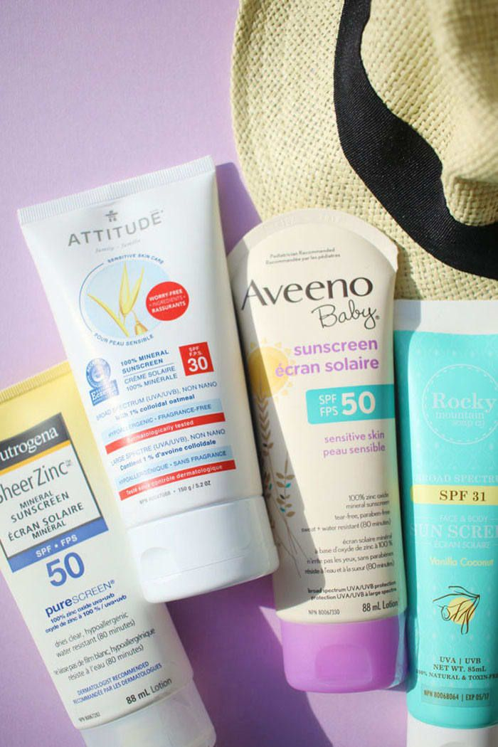 Editor's Picks 19 of the Best Zinc Oxide Sunscreens for