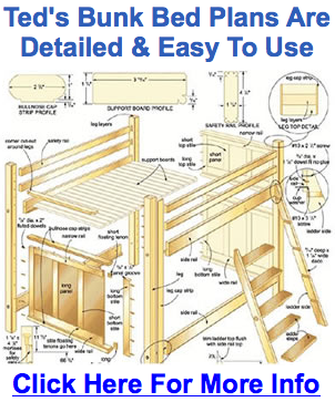 Bunk bed design plans Nov 21 2013 A combination of bunk and loft bed  designs 270x180 50 Modern Bunk Bed Turn a loft bed intoa bunk bed with some  in