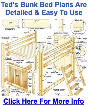 Bunk Bed Plans Bed Design Blueprint Free Building Advice
