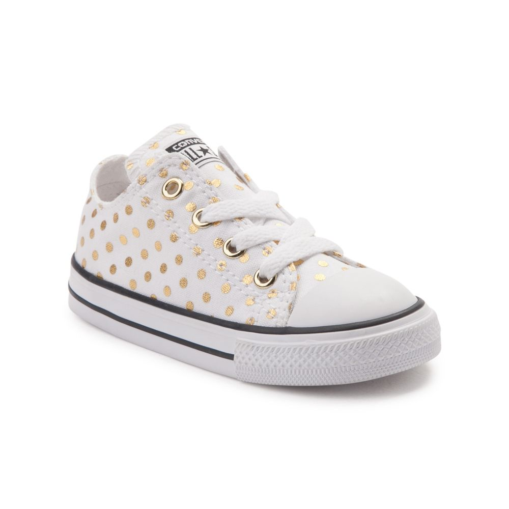 d857a319ed6d Toddler Converse Chuck Taylor All Star Lo Dots Sneaker