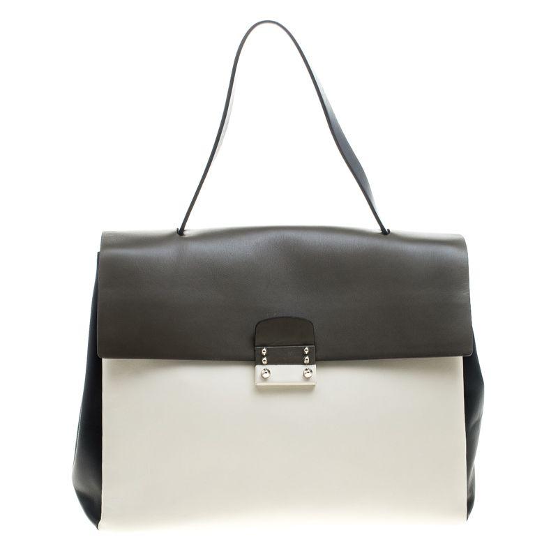 1c56de2d1e6 Valentino Multicolor Leather Mime Top Handle Bag - Buy   Sell - LC ...