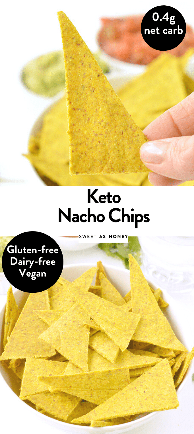 Photo of Keto Tortillas chips Grain free 'Corn like' chips + vegan – Sweetashoney