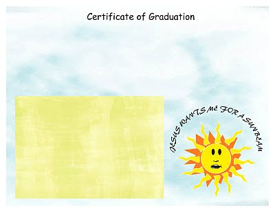 Nursery Graduation Certificate Church Pinterest Certificate - graduation certificate