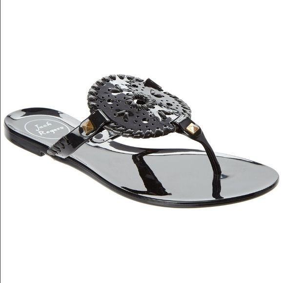 761adb2710f0 Black Jelly Jack Rogers. NIB. Willing to take lower offer on Ⓜ️ercari. Jack  Rogers Shoes Sandals
