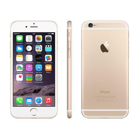 .: Apple iPhone 6, 128GB Dorado. :: APPLE :.