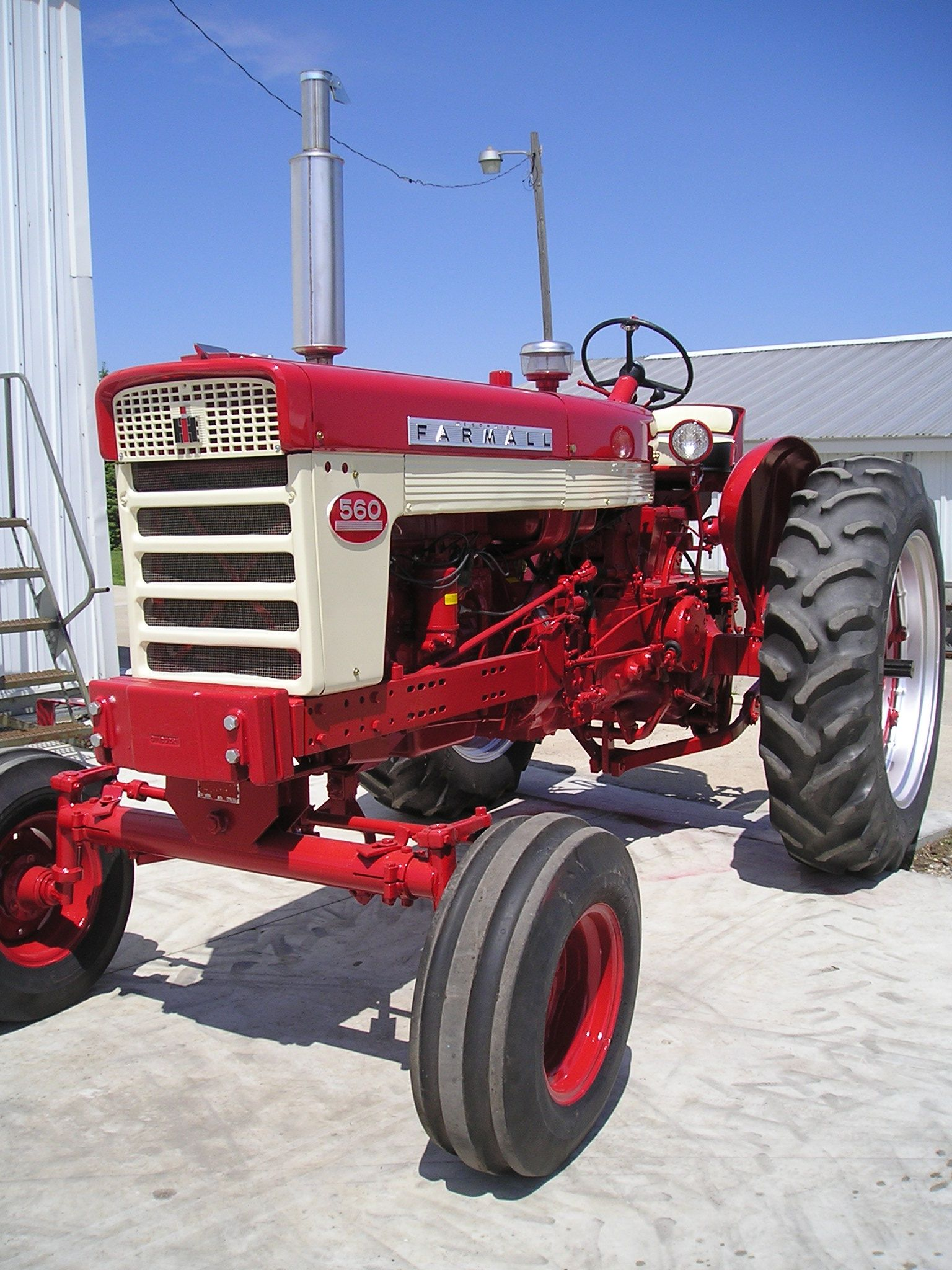 Restored Antique Tractors : Restored farmall its identical to ours farm life
