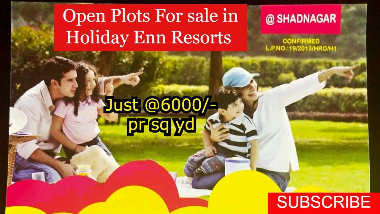 Open Plots for Sale in Holiday Enn Resorts Shamshabad