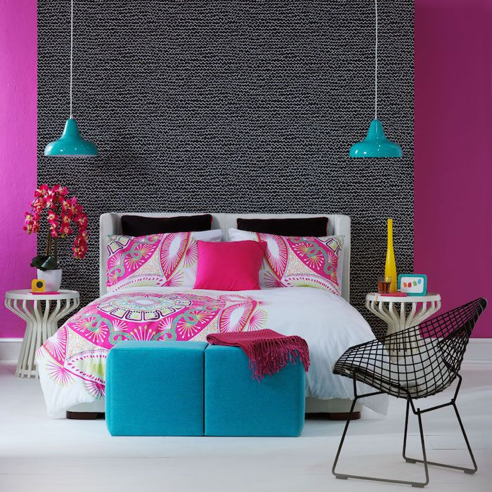 beautiful welche farbe passt zu magenta ideas. Black Bedroom Furniture Sets. Home Design Ideas