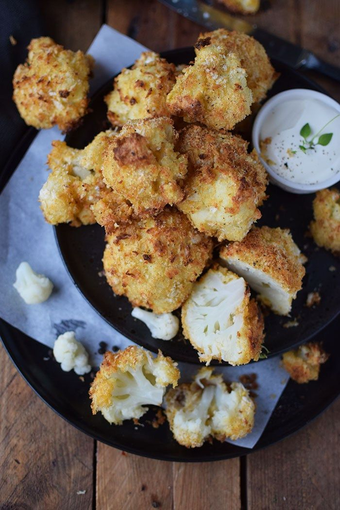 Photo of Baked cauliflower wings: vegetarian snack ⋆ crispy room