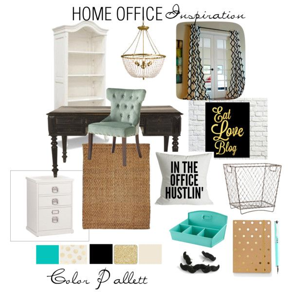 home office inspiration by tiniposh on polyvore office