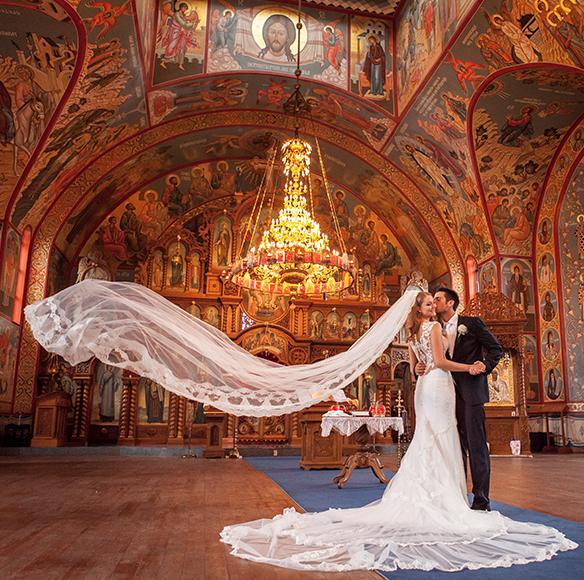 Wedding #Ceremony #location / Serbian Orthodox Church In