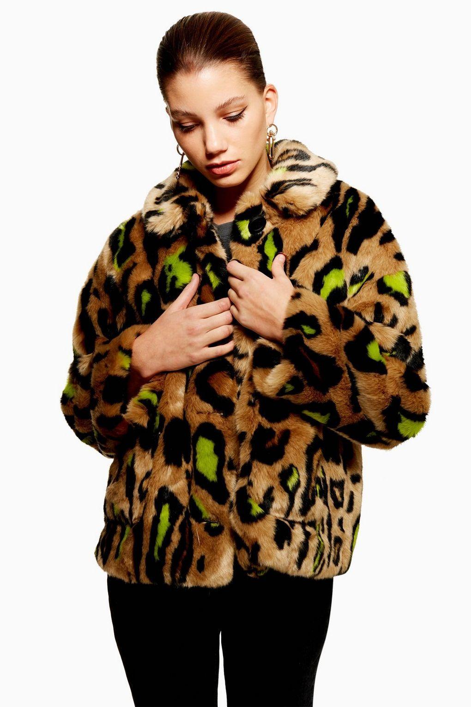 76b91badaf1c1 Cropped Leopard Print Jacket | FASHION BEAN | Leopard print jacket ...