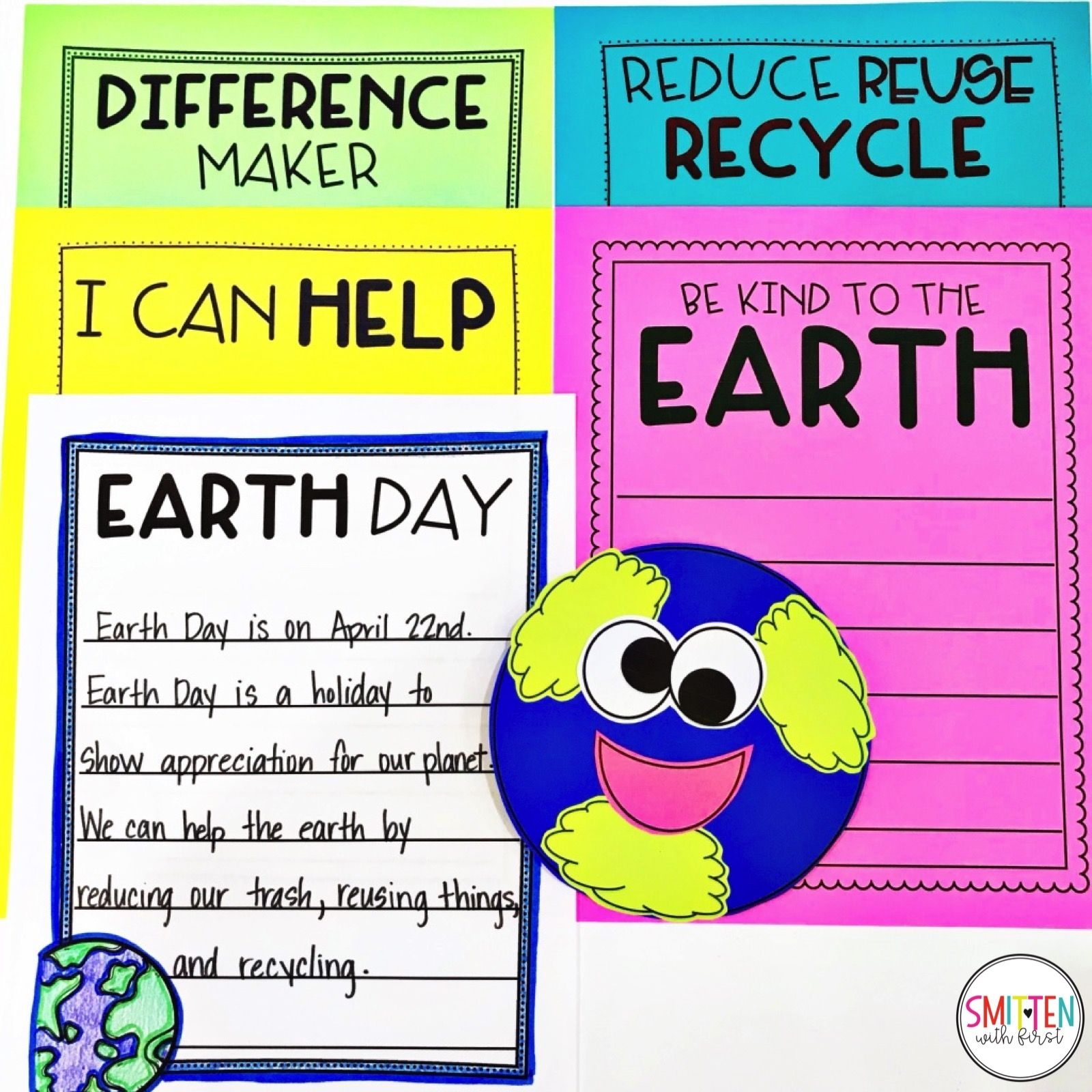 Earth Day Activities For Kindergarten First Grade And
