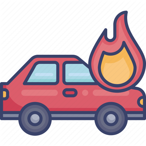 Car Fire Flame Insurance Protection Security Shield Icon Download On Iconfinder Shield Icon Car Car Icons