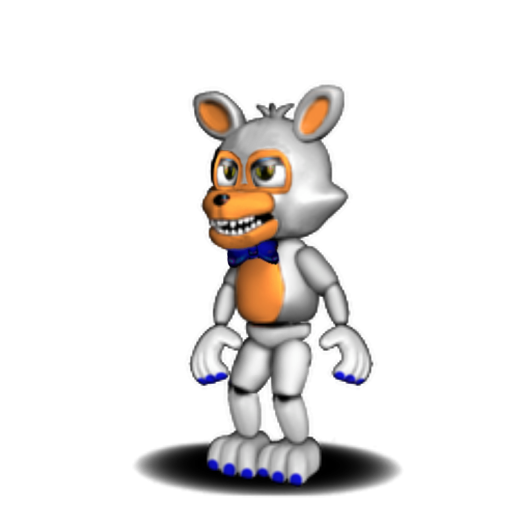 Unwithered Adventure Foxy As Lobit Fnaf World