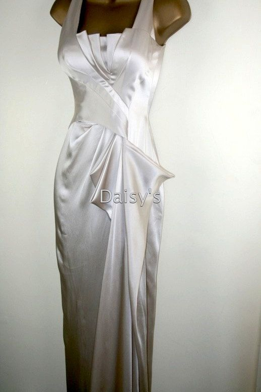 f8eb05fa76c SALE Karen Millen 1930s style evening dress wedding dress US 8 UK 12 nwt.   175.00