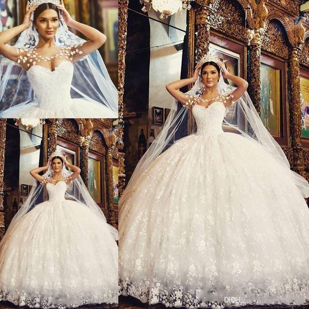 Großhandel 20 Neue Arabische Spitze Ballkleid Prinzessin