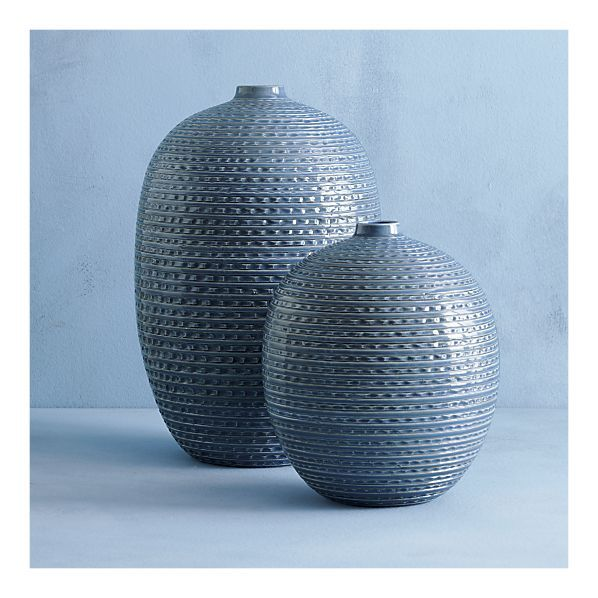 Notch Small Vase In Vases Crate And Barrel Small Vase Large Vase Vase