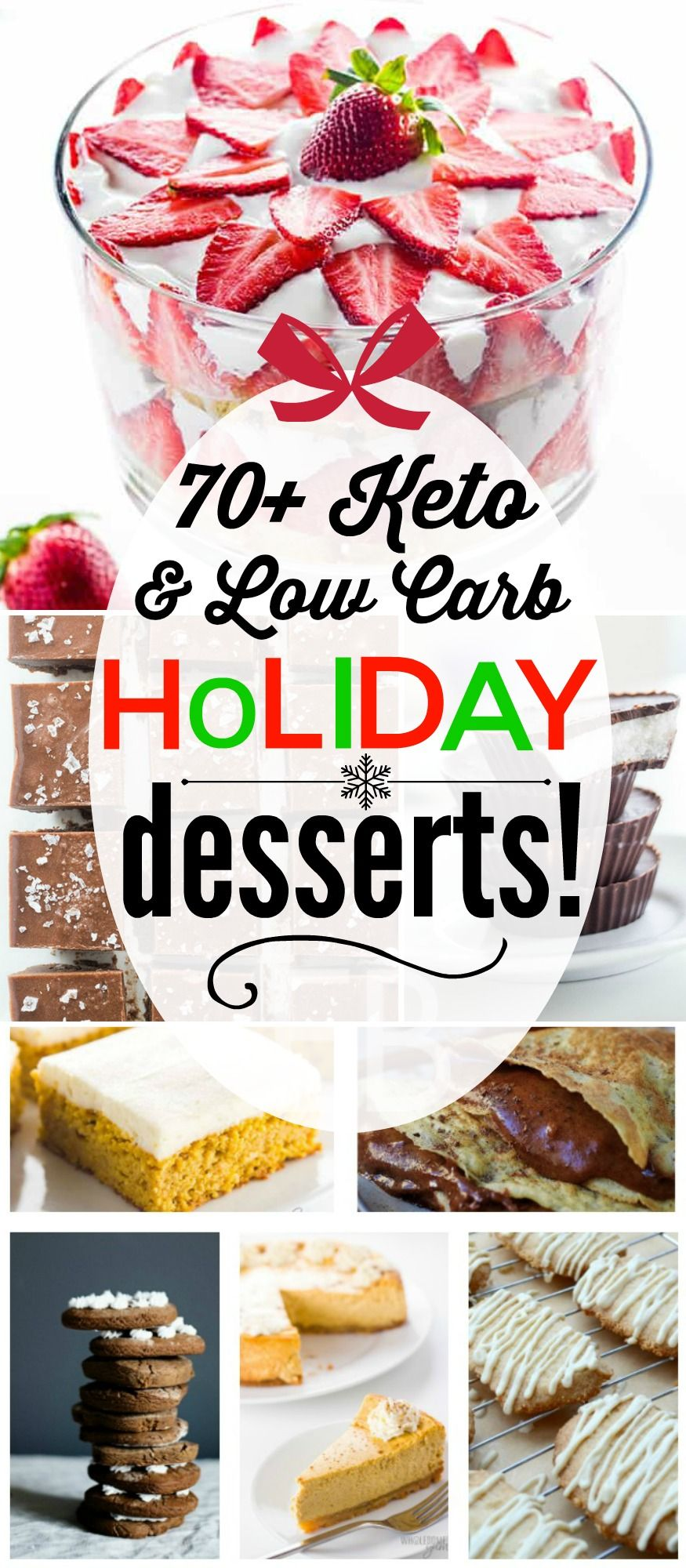 70+ Keto and Low Carb Holiday Desserts Low carb desserts