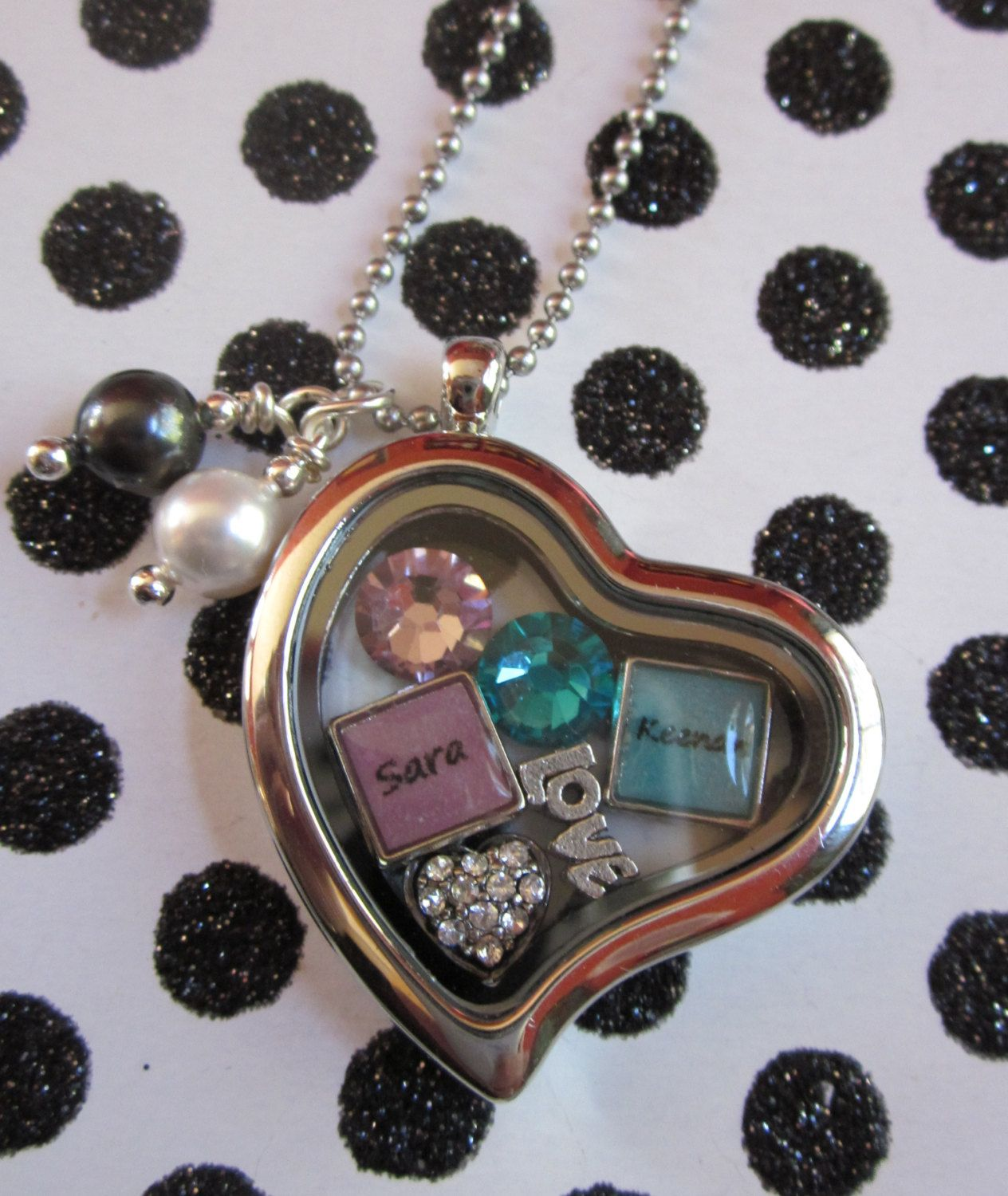 childrens sterling amazon double locket children dp jewelry com in heart silver necklace lockets